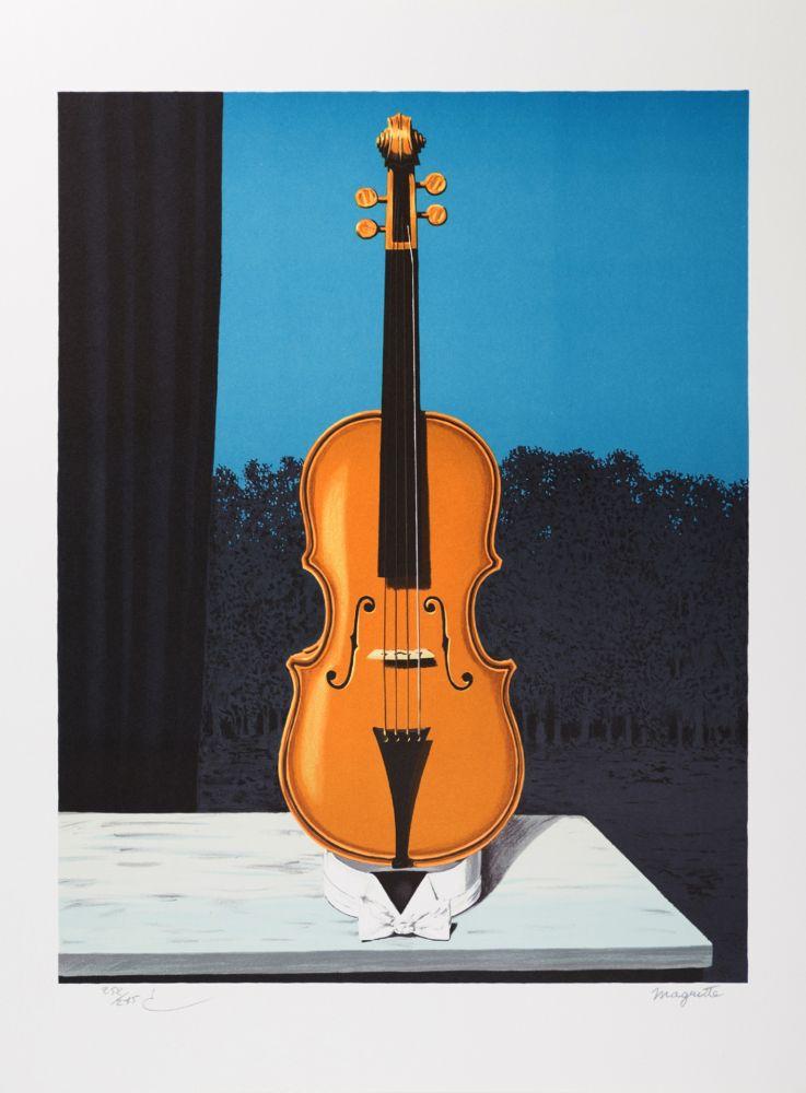 Lithographie Magritte - Un peu de l'âme des bandits (A Little of the Bandits' Soul)