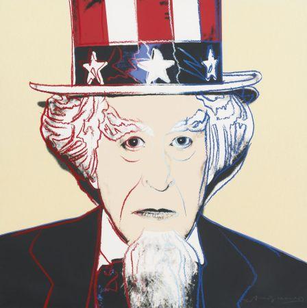 Siebdruck Warhol - Uncle Sam (FS II.259)