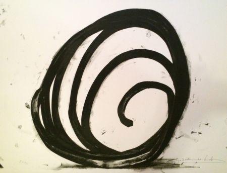 Siebdruck Venet - Undetermined Line