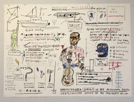 Siebdruck Basquiat - Undiscovered Genius