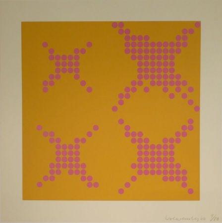 Siebdruck Loewensberg - Untitled