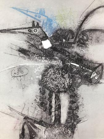 Radierung Lam - Untitled
