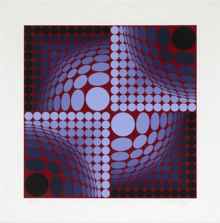 Siebdruck Vasarely - Untitled
