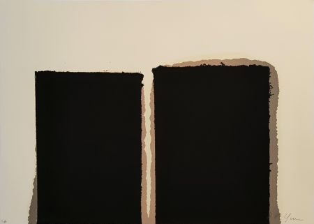 Siebdruck Yun - Untitled