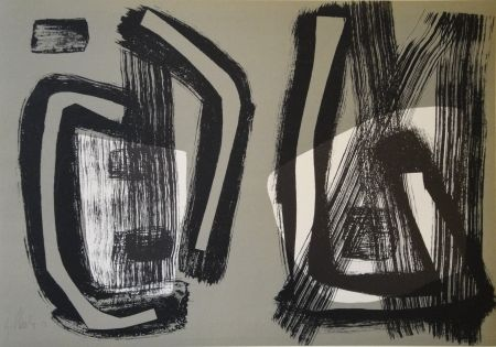 Lithographie Winter - Untitled