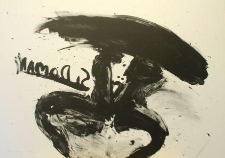 Lithographie Kounellis - Untitled