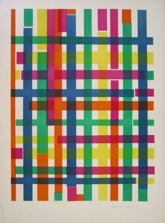 Lithographie D'orazio - Untitled
