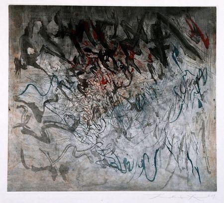 Radierung Und Aquatinta Zao - Untitled