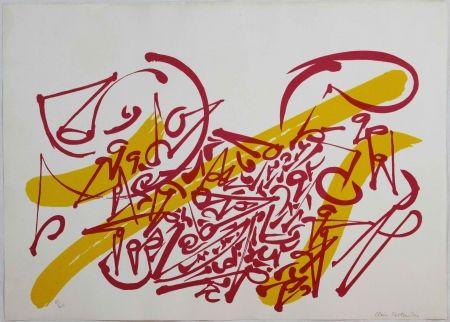 Lithographie Falkenstein - Untitled