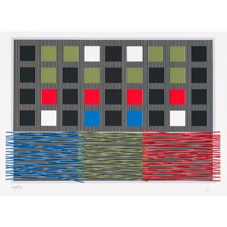 Siebdruck Soto - Untitled