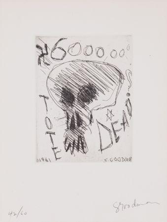 Radierung Goodman - Untitled