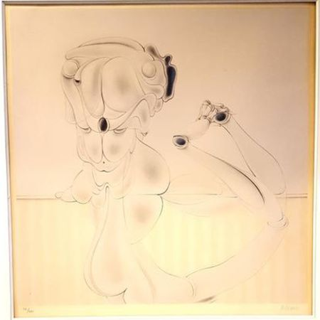 Lithographie Bellmer - Untitled