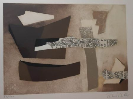 Lithographie Ray - UNTITLED