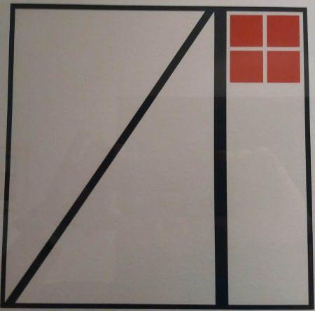 Lithographie Reggiani - UNTITLED