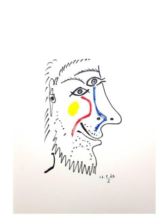 Lithographie Picasso (After) - Untitled