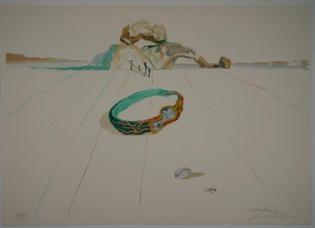 Lithographie Dali - Untitled