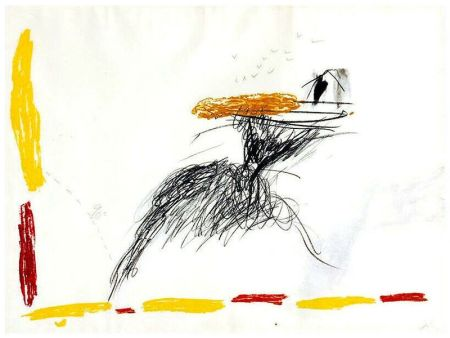 Stich Tàpies - Untitled