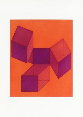 Lithographie Perilli - UNTITLED