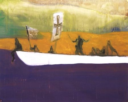 Aquatinta Doig - Untitled (Canoe)