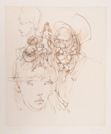 Stich Bellmer - Untitled (From Alice In Wonderland)