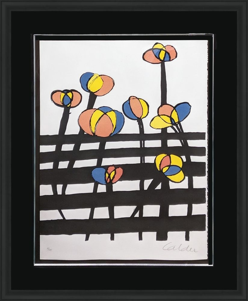 Lithographie Calder - UNTITLED (FROM MAGIE EOLIENNE PORTFOLIO)