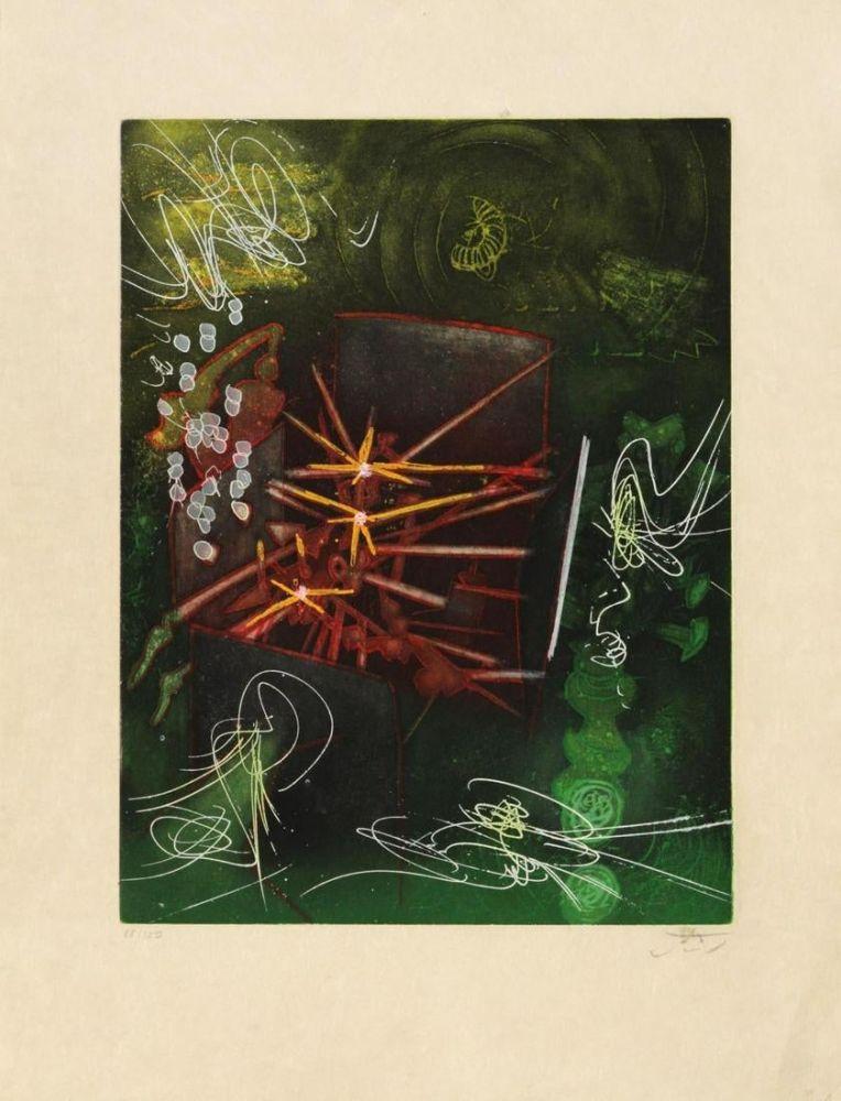 Radierung Und Aquatinta Matta - Untitled from