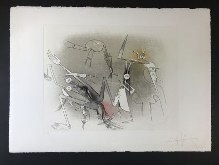 Radierung Und Aquatinta Lam - Untitled from ''Visible invisible folder''