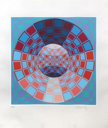 Siebdruck Vasarely - Untitled II