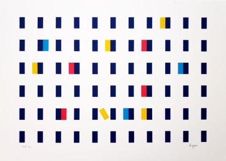 Siebdruck Agam - Untitled II