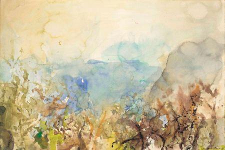 Keine Technische Zao - Untitled Landscape 1985