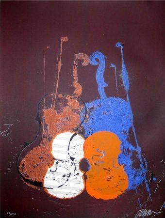Siebdruck Arman - Untitled (Mélodie)