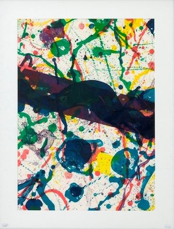 Lithographie Francis - Untitled (Sf-317)
