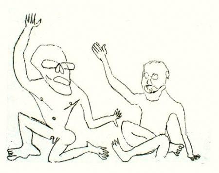 Stich Calder - Uomini nudi