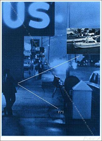 Siebdruck Monory - Usa 76 - Bateau.