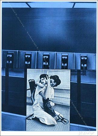 Siebdruck Monory - Usa 76 - Phones.