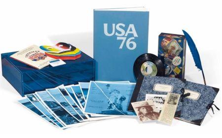 Illustriertes Buch Monory - Usa 76. Bicentenaire Kit.