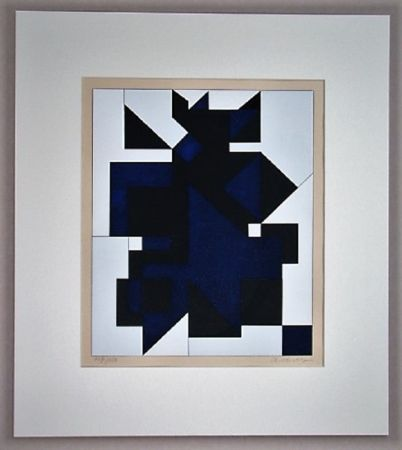 Siebdruck Vasarely - Utica
