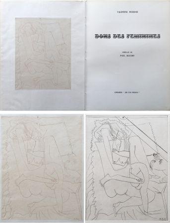Illustriertes Buch Picasso - Valentine Penrose : DONS DES FÉMINIES (1951). 1 des 50 avec une eau-forte en 2 états.
