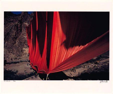 Fotografie Christo - Valley Curtain