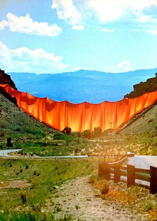 Offset Christo - Valley curtain, Rifle - Colorado 1-4