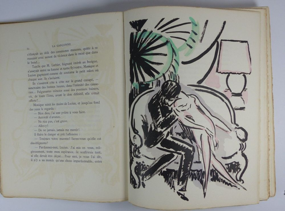 Illustriertes Buch Van Dongen - [Van Dongen] Victor Margueritte. La Garçonne. Ex. sur Hollande