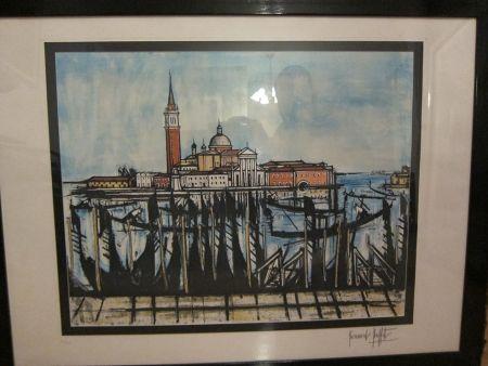 Radierung Buffet - Venice