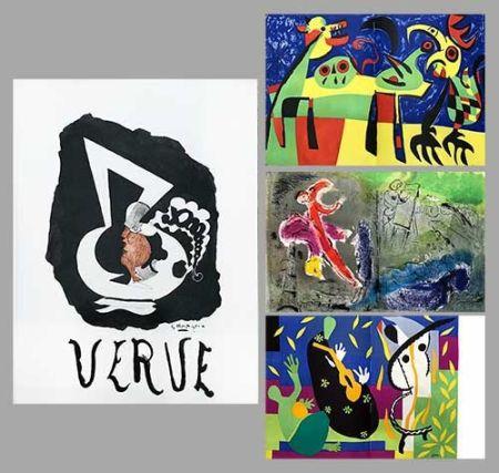 Illustriertes Buch Chagall - Verve 27 28
