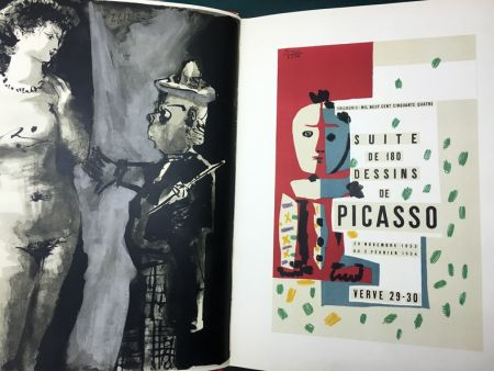 Illustriertes Buch Picasso - VERVE N° 29-30. PICASSO AND THE HUMAN COMEDY. A suite of 180 drawings by Picasso (Vallauris, suite de 180 dessins de Picasso)