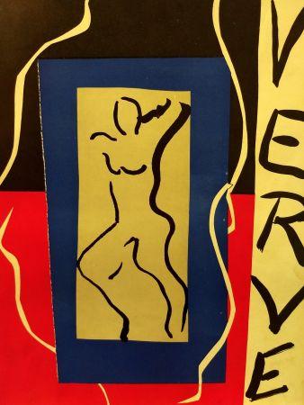 Illustriertes Buch Matisse - Verve no 1