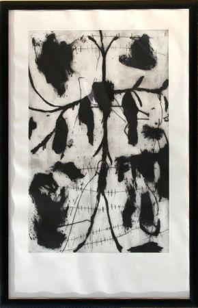 Radierung Und Aquatinta Paladino - Vespero - Triptych #1