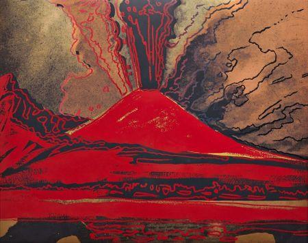 Siebdruck Warhol - Vesuvius (FS II.365)