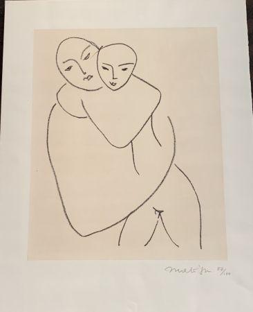 Lithographie Matisse - Vierge et l'enfant