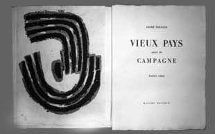 Illustriertes Buch Ubac - Vieux Pays