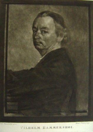 Mezzotinto Ilsted - Vilhelm Hammershøi